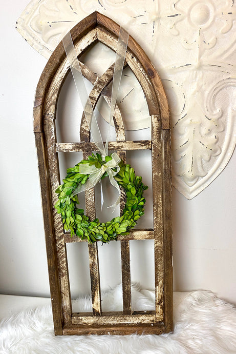 Rustic Wood Arch 36""