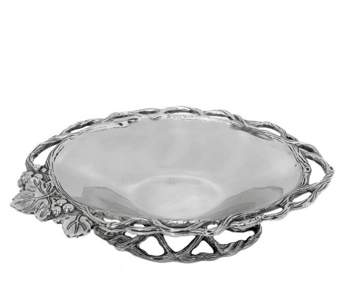 Arthur Court Grape Open Vine Vegetable Dish A104020