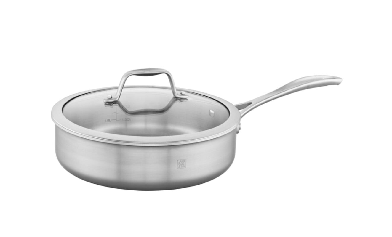 J A Henckels Spirit Stainless Steel Sauté Pan 9.5in. 3qt. 6565873D