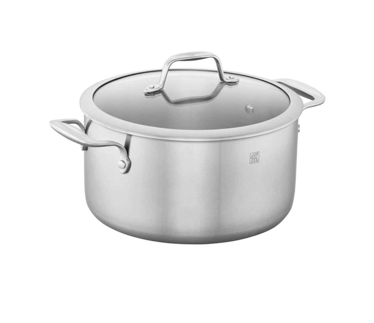 J A Henckels Spirit Stainless Steel Dutch Oven 6qt. 6566855D