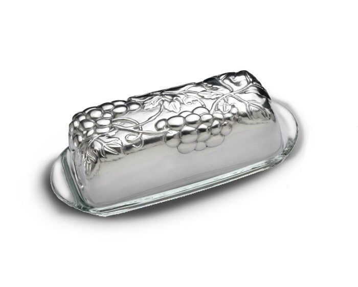Arthur Court Grape Butter Dish A103370