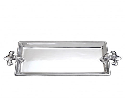 Arthur Court French Lily Oblong Tray A103578