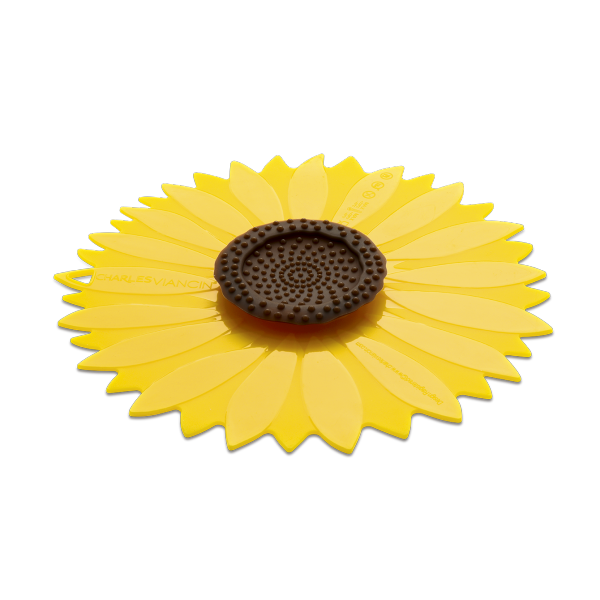 "Charles Viancin 4"" Sunflower Drink Cover 2pk 6306070"