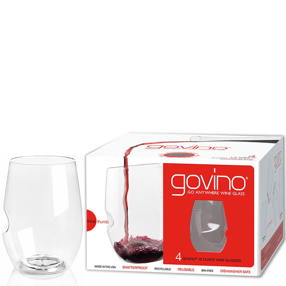 Govino Go Anywhere, Shatterproof Wine Glass