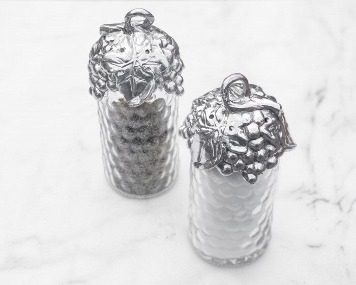 Arthur Court Grape Salt and Pepper Set A103484