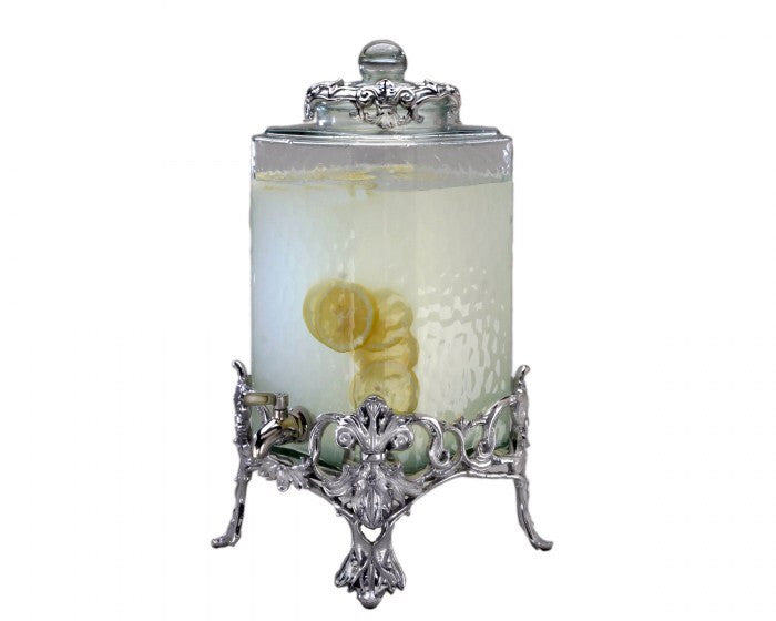 Arthur Court Fleur-De-Lis Beverage Server A103212