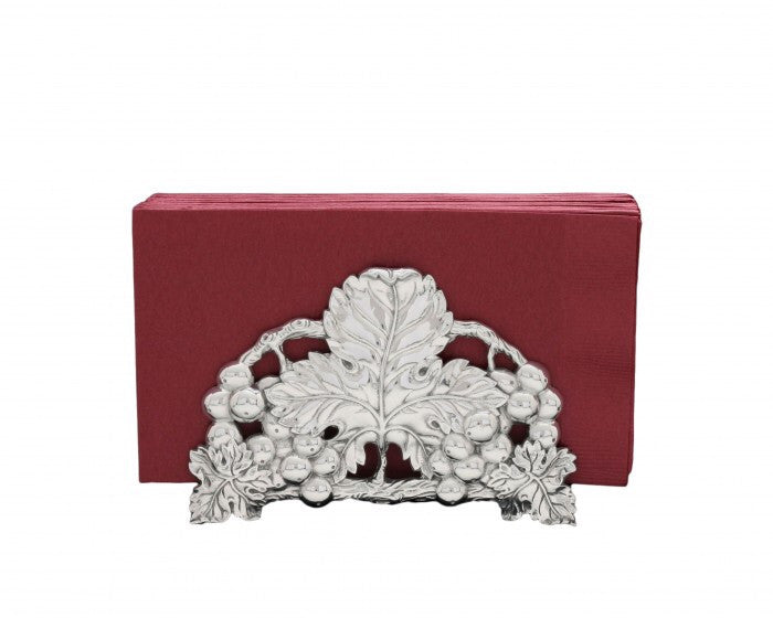 "Arthur Court Grape 6"" Napkin Holder A102950"