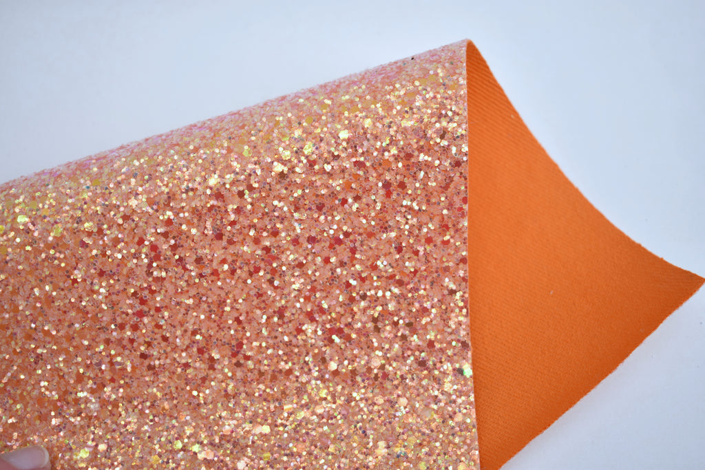 Adventure Iridescent Crystal Chunky Glitter Fabric Sheet