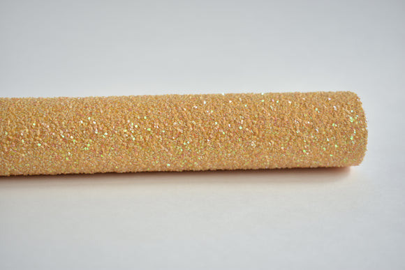 Number 2 Pencil Exclusive Iridescent Chunky Glitter Fabric Sheet