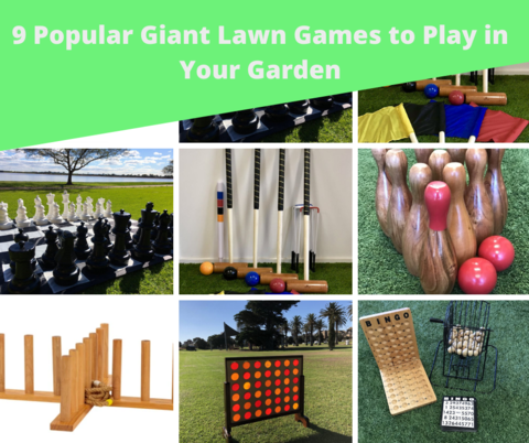 9 Popular Giant Lawn Games to Play in Your Garden
