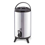 12L Portable Insulated Cold/Heat Coffee Tea Beer Barrel Brew Pot With Dispenser