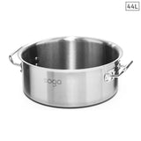 Stock Pot 44L Top Grade Thick Stainless Steel Stockpot 18/10 Without Lid