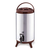 16L Portable Insulated Cold/Heat Coffee Tea Beer Barrel Brew Pot With Dispenser