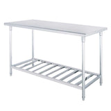 Commercial Catering Kitchen Stainless Steel Prep Work Bench 80*70*85cm