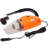 120W Portable Handheld Vacuum Cleaner Car Boat Vans Orange