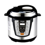 Electric Stainless Steel Pressure Cooker 6L 1600W Multicooker 16