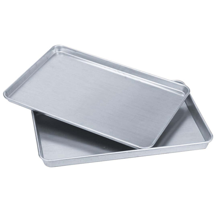 14 x Aluminium Oven Baking Pan Cooking Tray for Baker Gastronorm 60*40*5cm