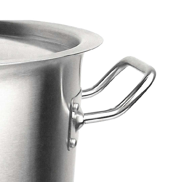Stock Pot 58L Top Grade Thick Stainless Steel Stockpot 18/10