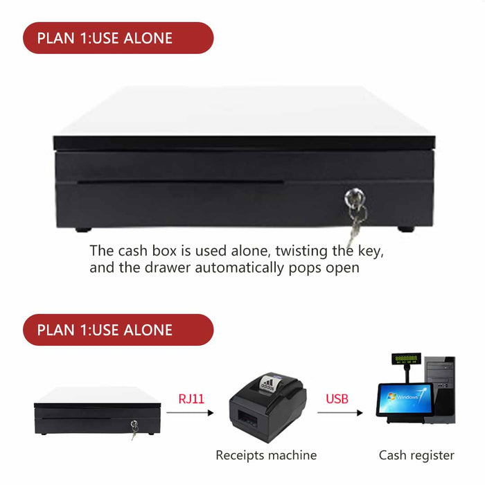 Black-Heavy-Duty-Cash-Drawer-Electronic-4-Bills-8-Coins-Cheque-Slot-Tray-Pos-350-HEY-CashDrawer350-afterpay-laybuy-latitudepay