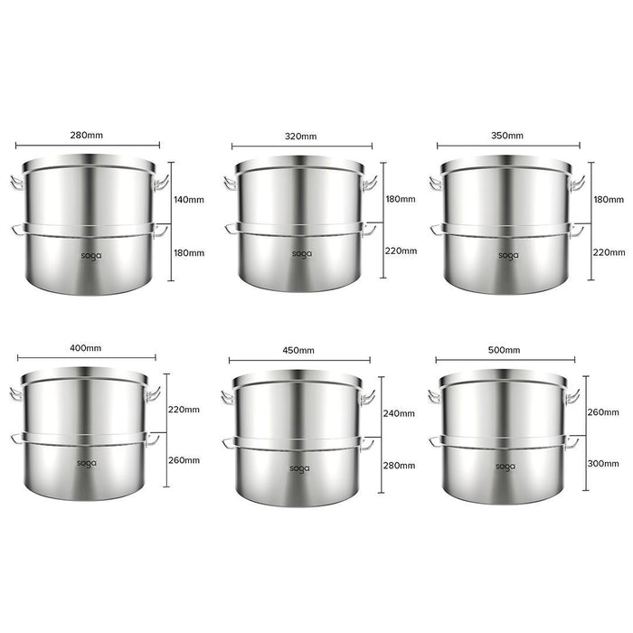 Food-Steamer-28cm-Commercial-304-Top-Grade-Stainless-Steel-2-Tiers-HEY-SteamerSS2780A28CM-afterpay-laybuy-latitudepay