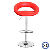 Rio Barstool - Set of 2 Red