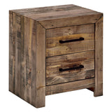 Beaumont & Braddock Albus Bedside Table