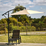 Sorrento Outdoor Living Cantilever Umbrella 2.7M - Beige