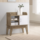 Storage Cube Display Cabinet Oak