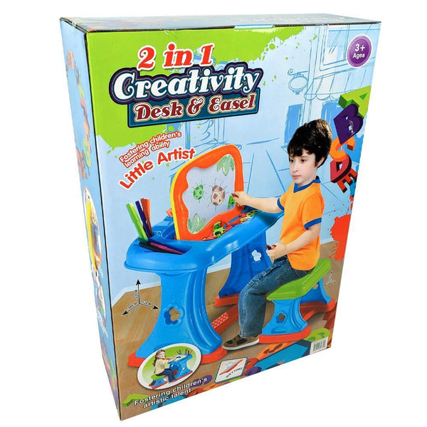 2-in-1 Creativity Desk Easel