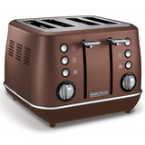Morphy Richards Evoke 4 Slice Bronze Toaster 240101