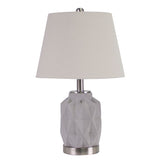 Jude-Bedside-Lamp-light-grey-and-silver-with-shade-DD-29015-afterpay-klarna-laybuy