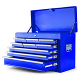 Blue 9 Drawer Tool Box Cabinet