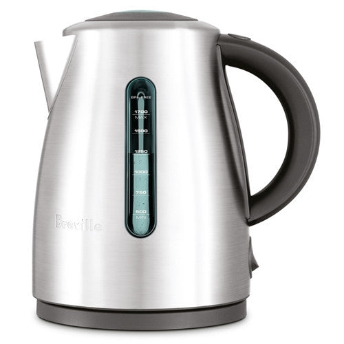 Breville The Soft Top Clear Kettle BKE495BSS