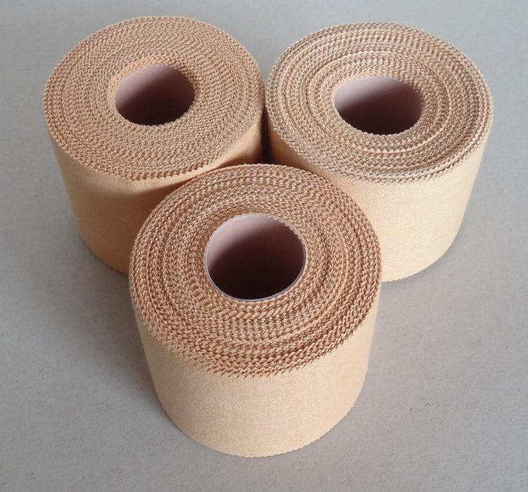 Premium-Rigid-Sports-Strapping-Tape---3-Rolls-of-50mm-X-13.7M