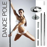 Portable Dance Pole Dancing Spinning Home Gym Fitness