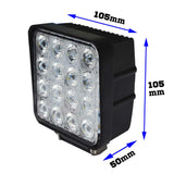 10PCS-80W-Philips-LED-Work-Light-Bar-Flood-Offroad-4WD-SUV-Driving-Lamp-12V-24V-V13-WL-080S-FLOOD*10-afterpay-zippay