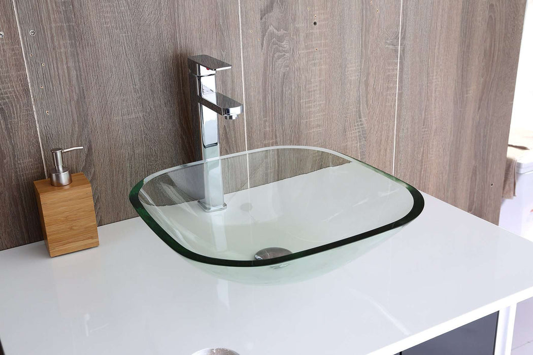 12mm Tempered Glass Above Countertop Basin for Vanity