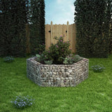 Hexagonal Gabion Planter 160x140x50 cm