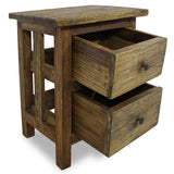 Nightstand Solid Reclaimed Wood 40x30x51 cm