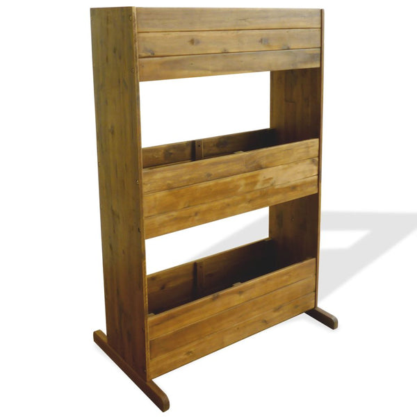 3-Tier Garden Planter Solid Acacia Wood