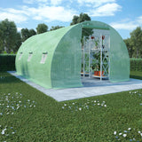 Greenhouse with Steel Foundation 13.5m² 450x300x200 cm
