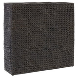 Garden Planter with 4 Pots Water Hyacinth Black