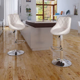 Bar Stools 2 pcs White