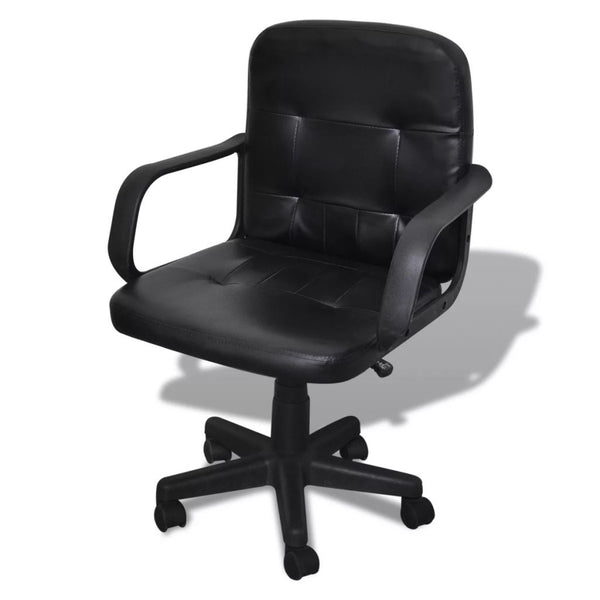 Luxury Office Chair Quality Design Black 59 x 51 x 81-89 cm