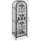 Wine-Rack-for-45-Bottles-Metal-VXL-240939-afterpay-zip-laybuy