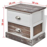 Bedside-Cabinets-2-pcs-Brown-and-White-VXL-242885-afterpay-zip-laybuy