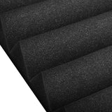 Set of 20 Studio Wedge Acoustic Foam Black 30 x 30cm
