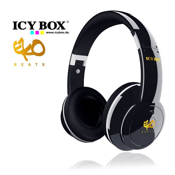 ICY BOX Big City Vibes IB-HPH2 Headphones 3.5 mm Jack (Black)