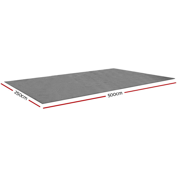 5 X 2.5M Annex Floor Mat - Grey