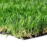 40mm  0.95mx5m 4.75sqm Artificial Grass Fake Turf 4-coloured Plants Plastic Lawn